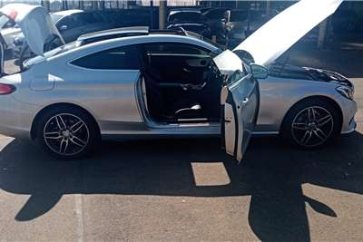 Used 2016 Mercedes Benz C-Class Coupe C200 AMG COUPE A/T