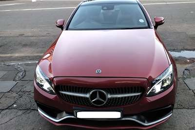 Mercedes Benz C-Class Coupe C200 AMG COUPE A/T 2017