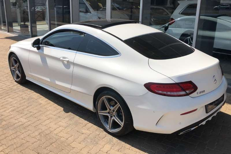 Mercedes Benz C-Class Coupe C200 AMG COUPE A/T 2018