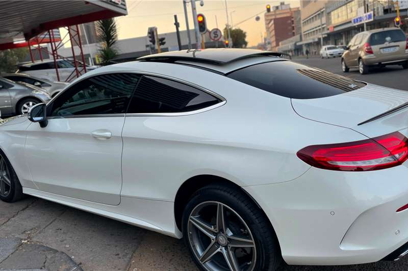 Used 2016 Mercedes Benz C-Class Coupe C220d AMG COUPE A/T