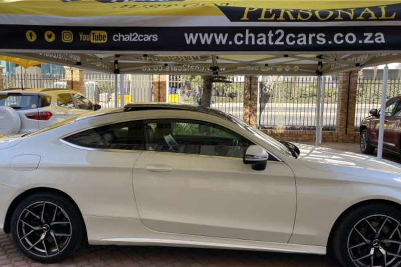 Used 2017 Mercedes Benz C-Class Coupe C220d AMG COUPE A/T