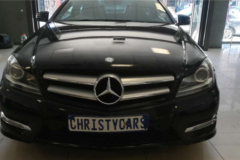 Mercedes Benz C-Class Coupe C250 AMG COUPE A/T 2012