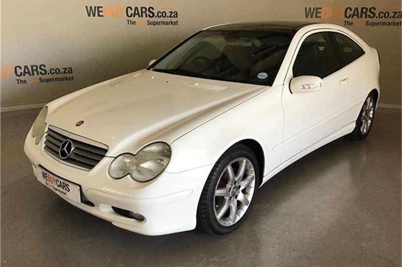 2002 Mercedes Benz C-Class coupe