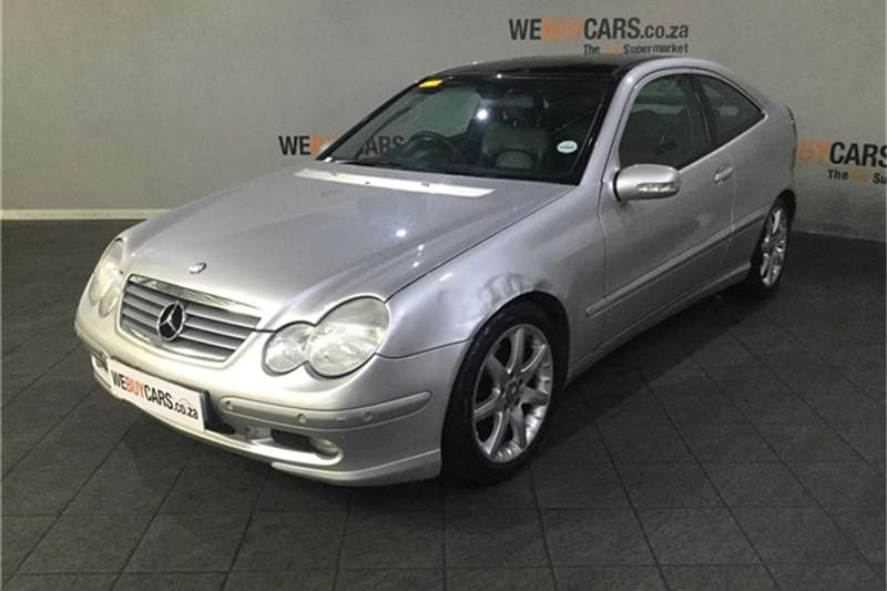 2001 Mercedes Benz C-Class coupe