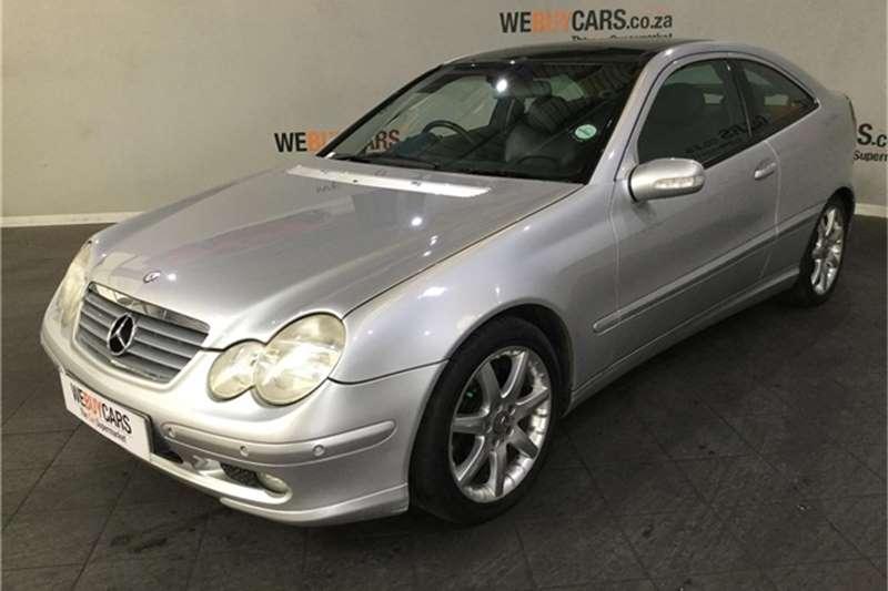 2003 Mercedes Benz C-Class coupe