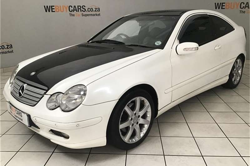 2004 Mercedes Benz C-Class coupe