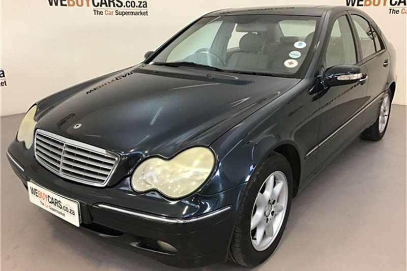 2004 Mercedes Benz C Class C240 Elegance