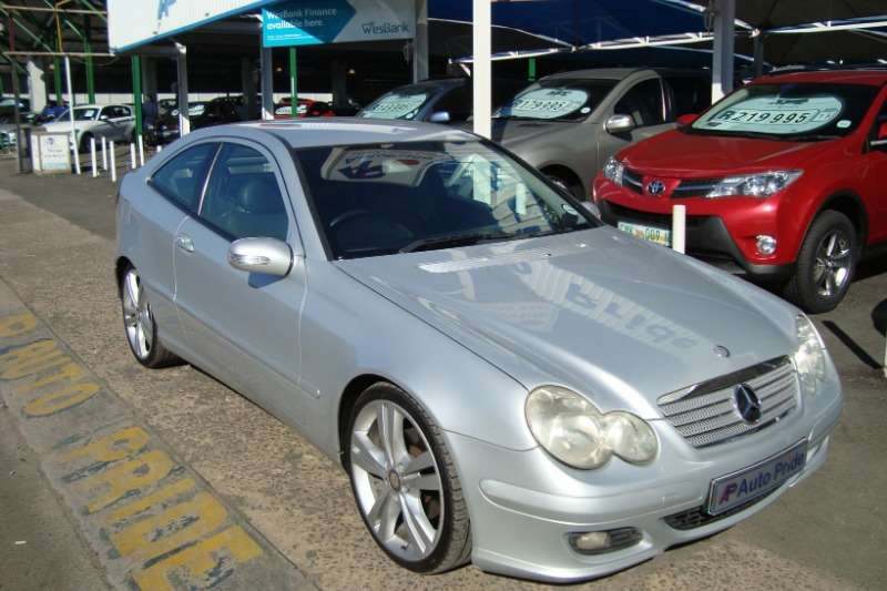 2004 Mercedes Benz C Class C230 Kompressor Sports Coupé Evolution