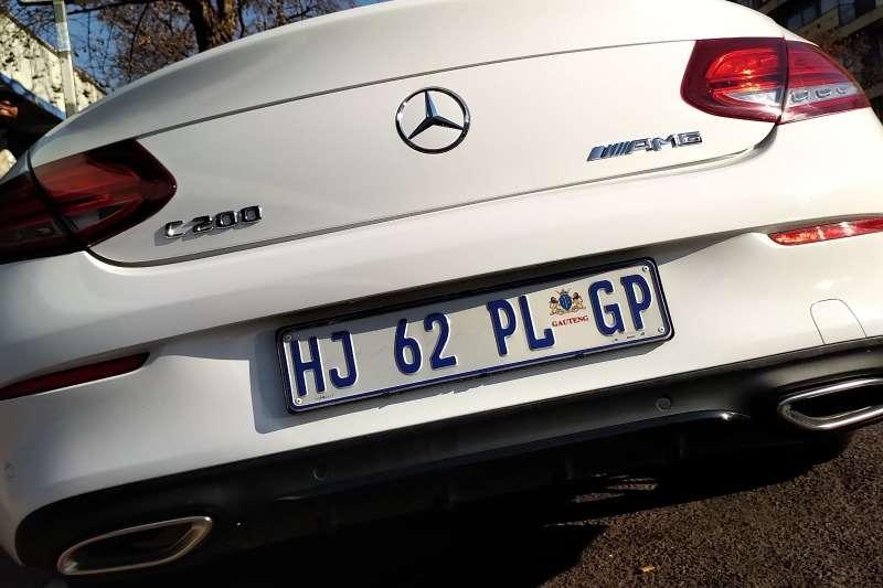 2018 Mercedes Benz C Class C200 coupe AMG Line auto