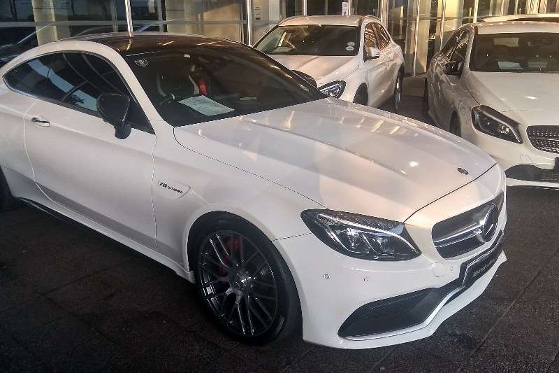 2016 Mercedes Benz C Class C63 AMG coupe