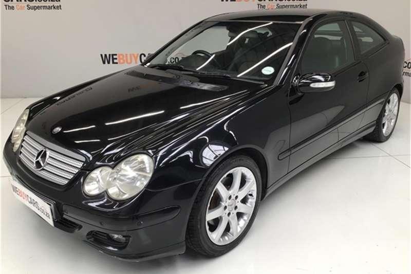 2004 Mercedes Benz C Class C230 Kompressor Sports Coupé Evolution Touchshift