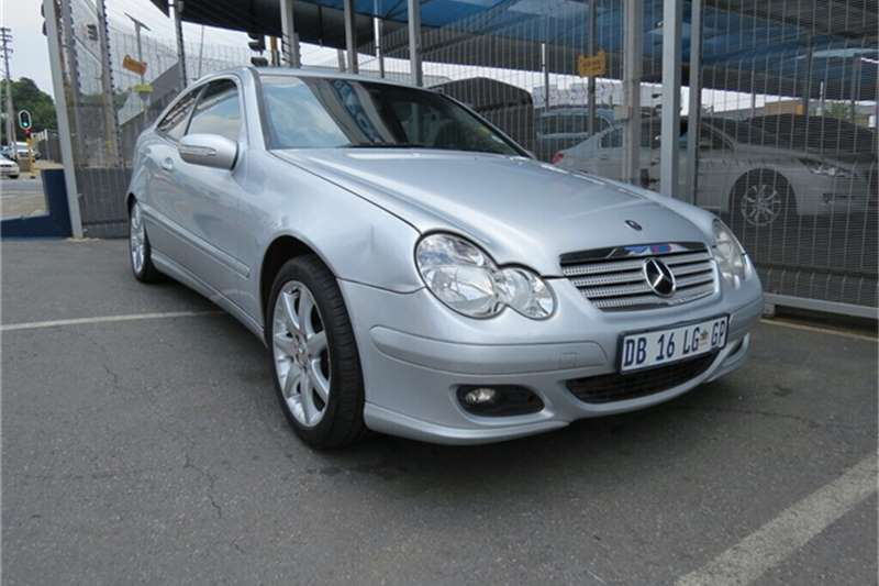 2008 Mercedes Benz C Class C230 V6 Sports Coupé Evolution