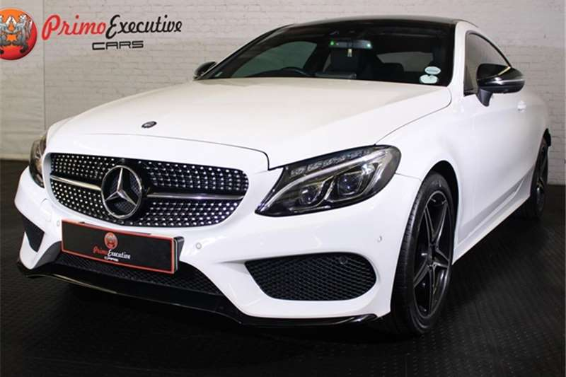 2016 Mercedes Benz C Class C200 coupe AMG Line