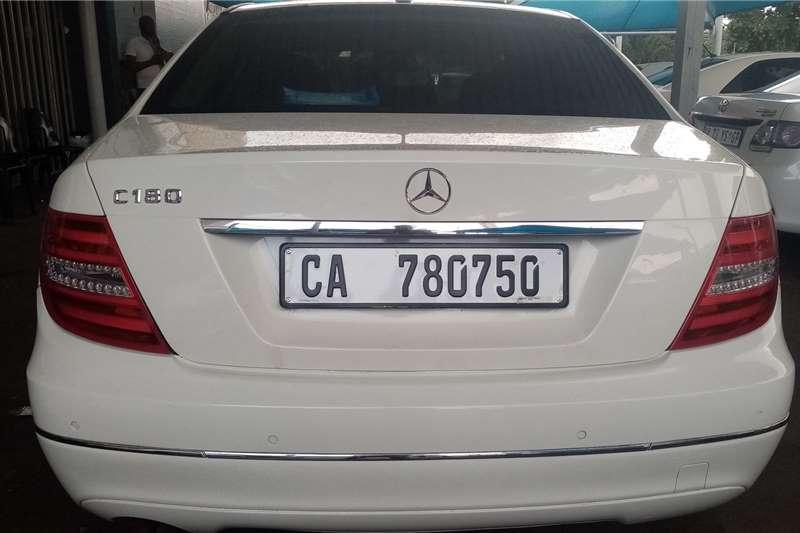 2012 Mercedes Benz C Class C180 auto