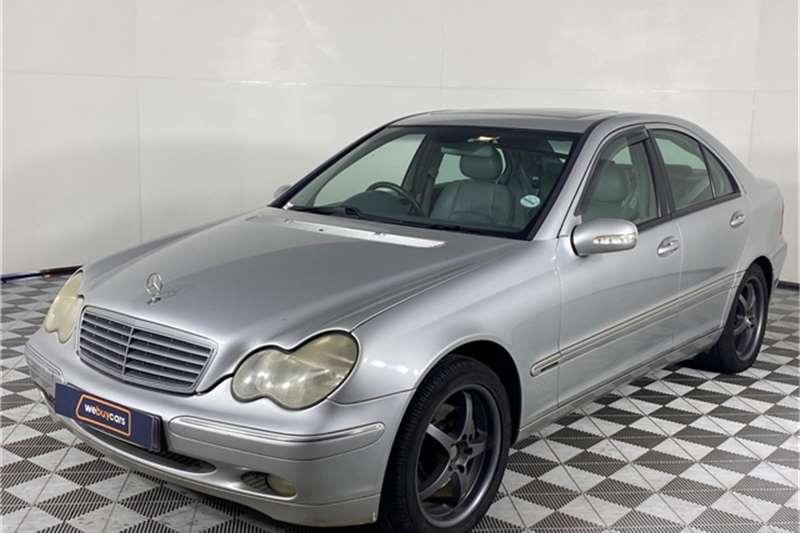2001 Mercedes Benz C-Class sedan