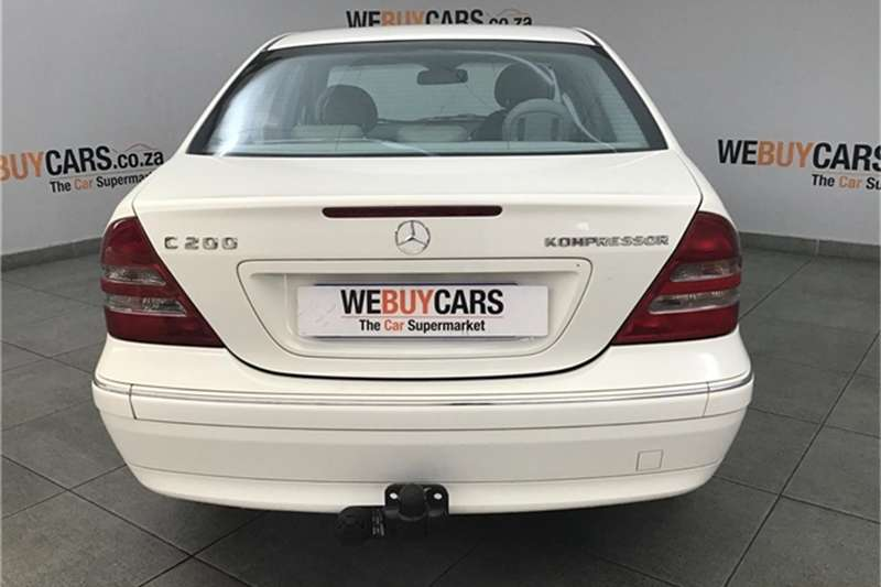 Mercedes Benz C-Class sedan 2002