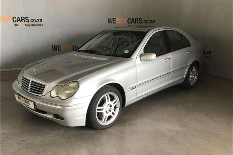 Mercedes Benz C-Class sedan 2002