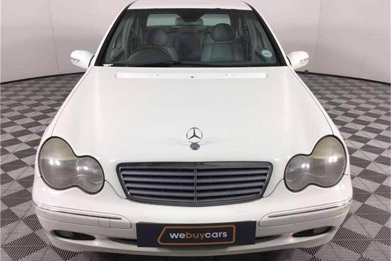 2002 Mercedes Benz C-Class sedan