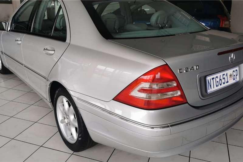 Used 2002 Mercedes Benz C-Class Sedan