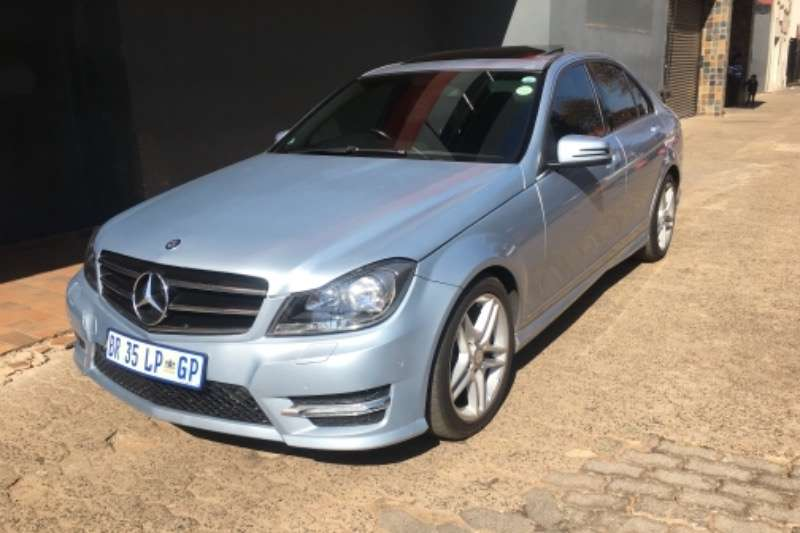 Mercedes Benz C-Class Sedan C180 AMG LINE A/T 2012