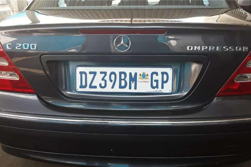 Mercedes Benz C-Class sedan C200 A/T 2004