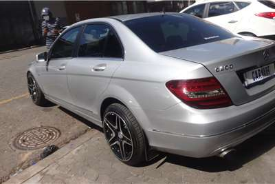 Mercedes Benz C-Class Sedan C200 A/T 2012