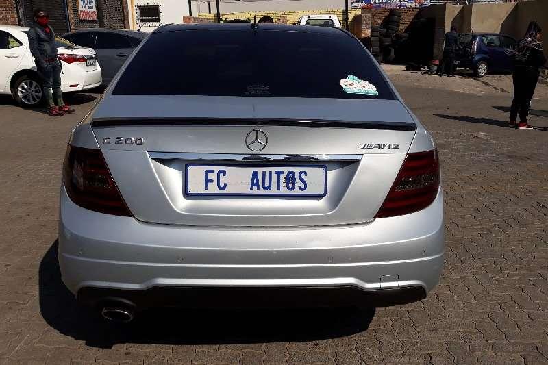 Used 2014 Mercedes Benz C-Class Sedan C200 AMG LINE A/T