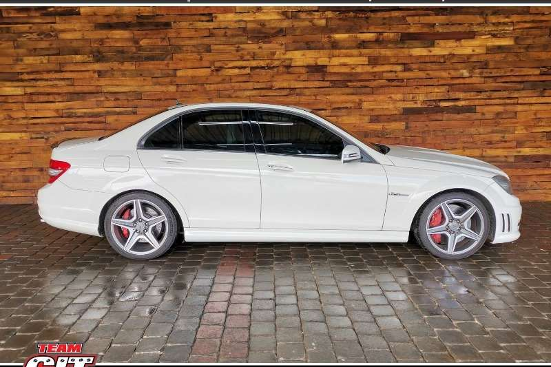 2011 Mercedes Benz C-Class sedan AMG C63 S