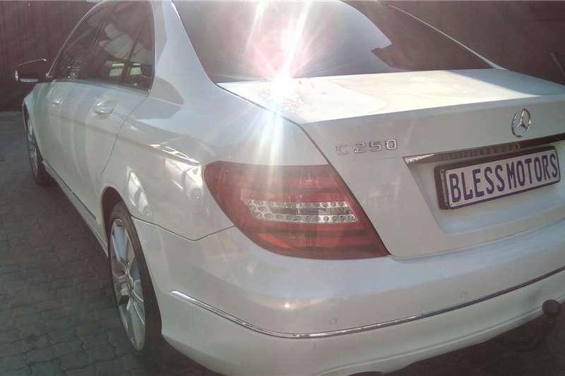 Mercedes Benz C250 CDI 2013