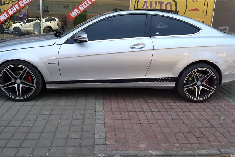 Mercedes Benz C250 Coupe 2013