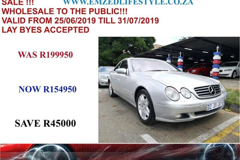 Mercedes Benz CL 500 2000