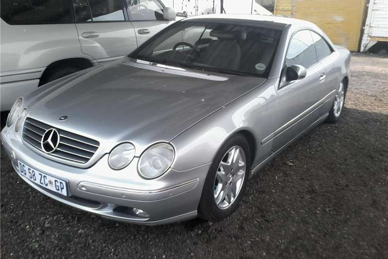 Used 2001 Mercedes Benz CL