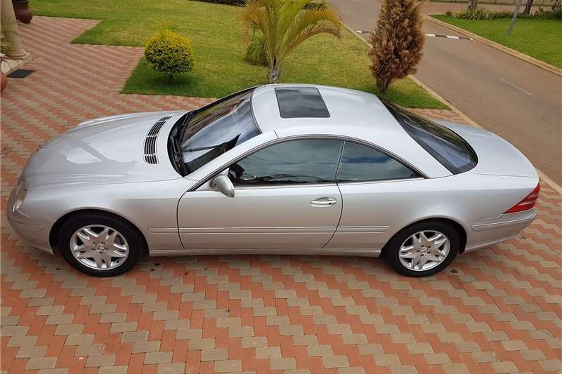 Mercedes Benz CL 500 2002