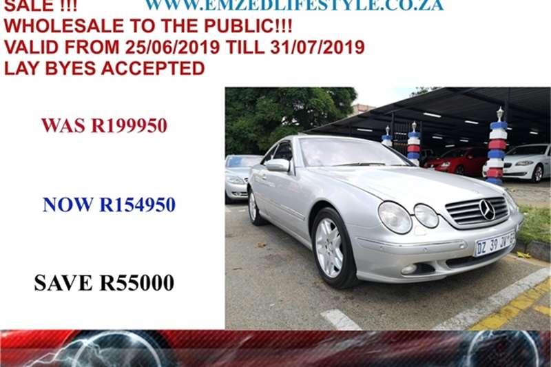 2000 Mercedes Benz CL