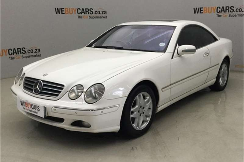 Mercedes Benz CL ASS 2002