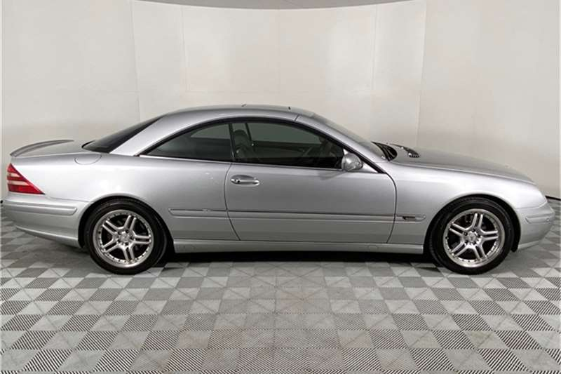 Used 2002 Mercedes Benz CL