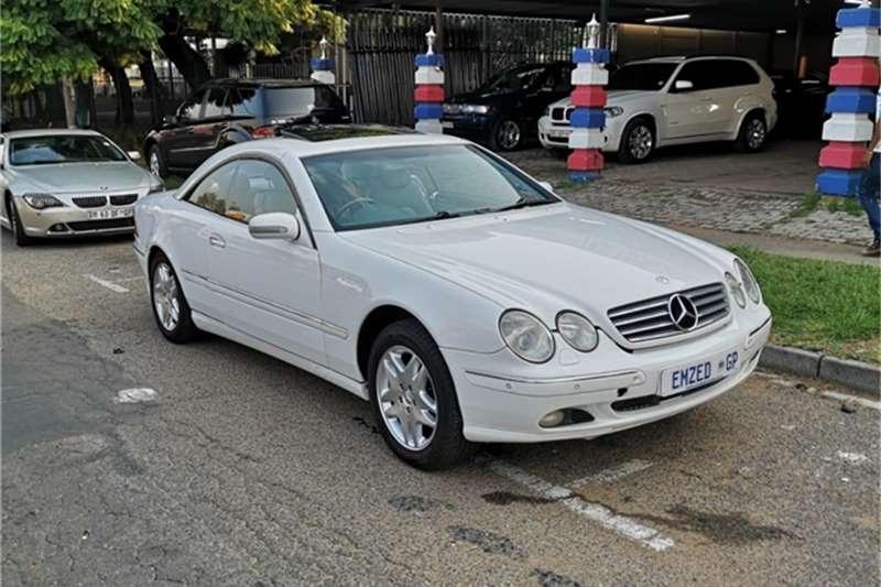 Mercedes Benz CL ASS CL 500 2002