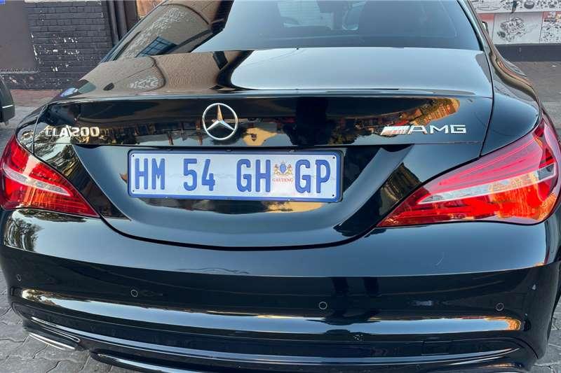 Used 2018 Mercedes Benz CLA 200 AMG Line auto