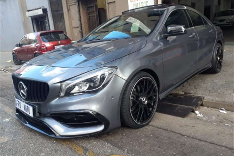 Used 2018 Mercedes Benz CLA 220d