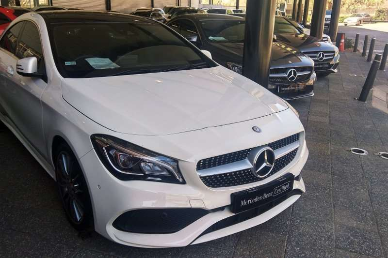 2017 Mercedes Benz CLA 200d AMG Line