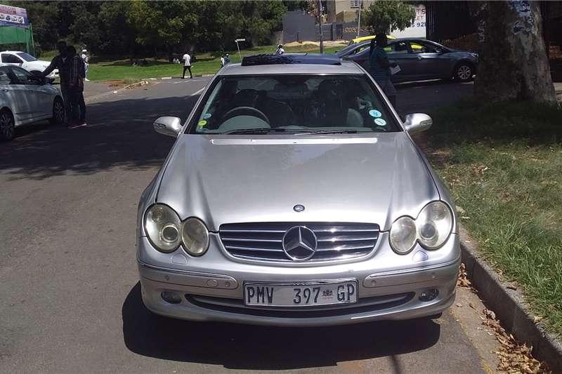 Mercedes Benz CLK 320 cabriolet Avantgarde 2003