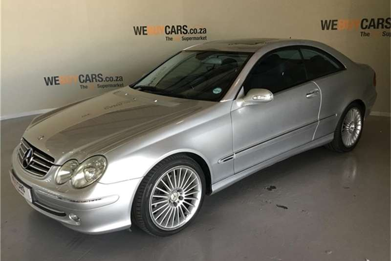 Mercedes Benz CLK 320 coupé Elegance 2004