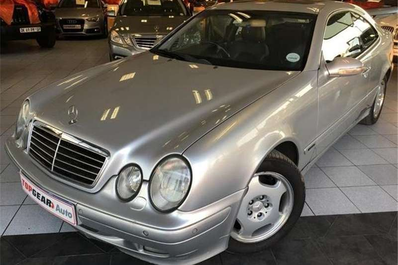 Mercedes Benz CLK 320 Elegance AT 2001