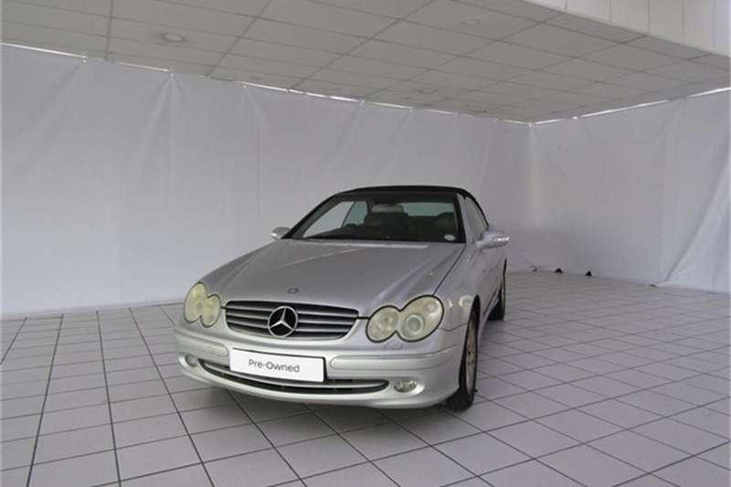 Mercedes Benz CLK 320 Elegance Convertible A/T 2003