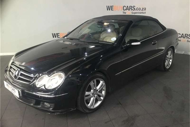 Mercedes Benz Clk Clk350 Cabriolet Elegance For Sale In Western Cape Auto Mart