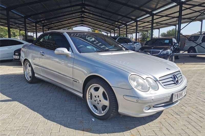 Mercedes Benz CLK 500 cabriolet Avantgarde 2004
