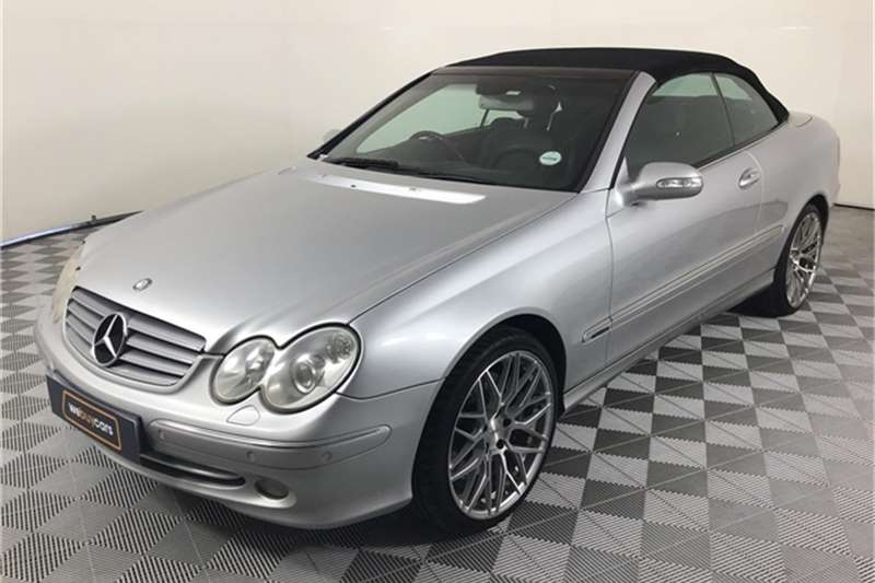 Mercedes Benz CLK 500 cabriolet Elegance 2003