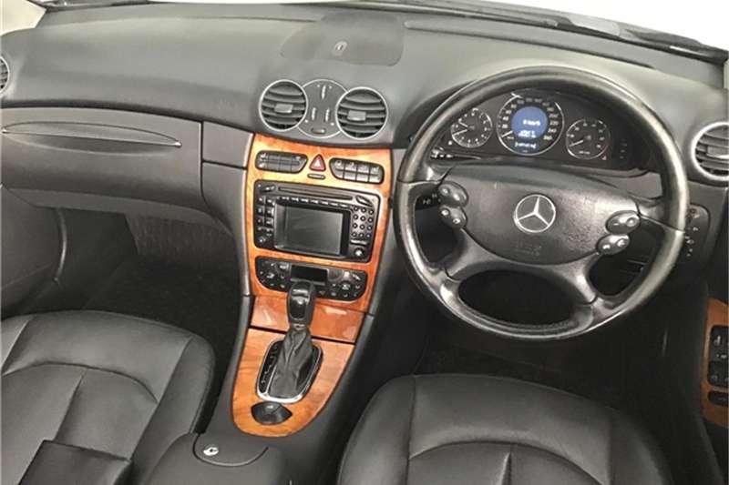 Mercedes Benz CLK 500 cabriolet Elegance 2004