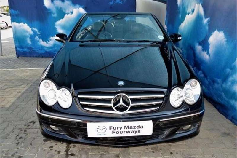 Mercedes Benz CLK 500 Cabriolet Elegance 2008