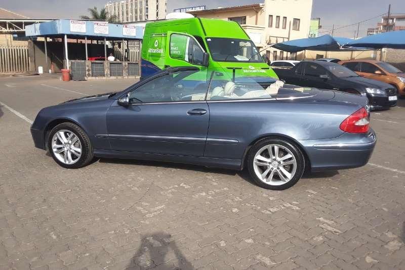 Mercedes Benz CLK 500 Convertible 2006